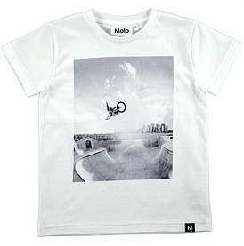 Molo White T-Shirt (4-6 Years)