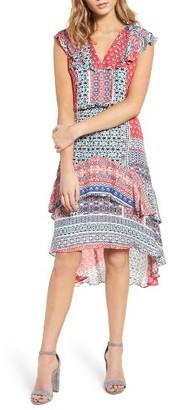 Women's Parker Sistine Mixed Print Dress $378 thestylecure.com