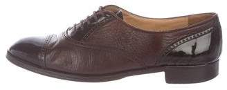 Gravati Leather Cap-Toe Oxfords