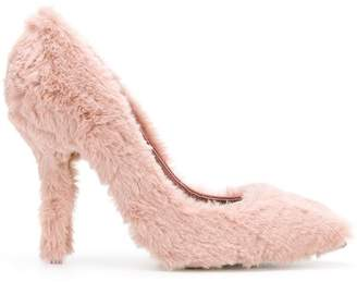 Dolce & Gabbana fluffy pumps
