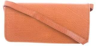 Polo Ralph Lauren Textured Leather Shoulder Bag