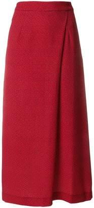 Pt01 midi a-line skirt