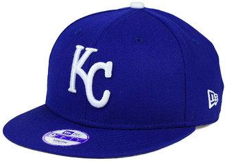New Era Boys' Kansas City Royals Major Wool 9FIFTY Snapback Cap $24.99 thestylecure.com