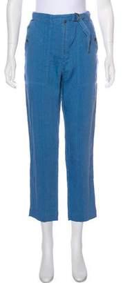 Etoile Isabel Marant High-Rise Linen Pants