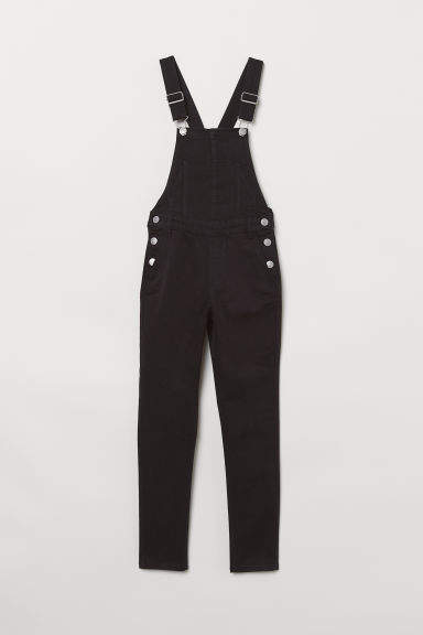 H&M - Bib Overalls - Black
