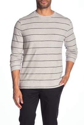Grayers Palmer Modern Fit Athletic Stripe Sweatshirt