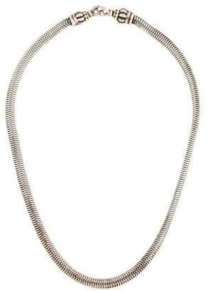 Lagos Caviar Snake Link Necklace