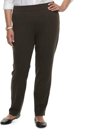 Croft & Barrow Plus Size Easy Care Pull-On Pants