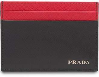 Prada Saffiano Leather Card Holder
