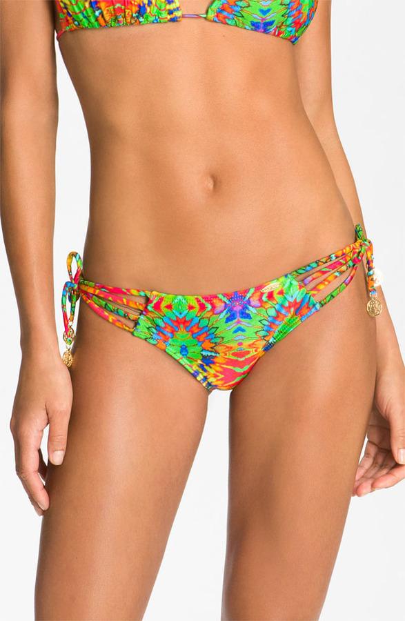 Luli Fama 'Aguanile' Strappy Brazilian Bikini Bottoms