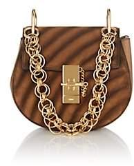 Chloé Women's Drew Bijou Small Suede & Leather Crossbody Bag - Brown