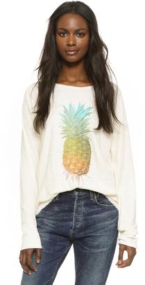 Wildfox Rainbow Pineapple Sunrise Shirt $108 thestylecure.com