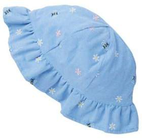 F&F Embroidered Frill Bucket Hat 1-2 years