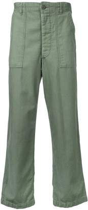 Icons straight-leg trousers