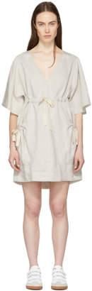 Etoile Isabel Marant Grey Wendell New Flou Dress