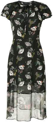 Markus Lupfer floral-print dress
