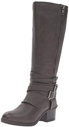 Madden-Girl Women's Ratewc Wide Calf Riding Boot