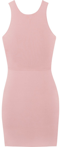 Elizabeth and James - Ritter Stretch-ponte Mini Dress - Pink