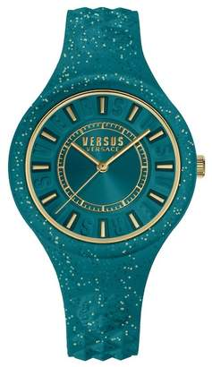Versace Fire Island Analog Quartz Watch, 39mm