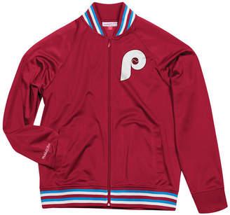 Mitchell & Ness Men's Philadelphia Phillies Top Prospect Track Jacket