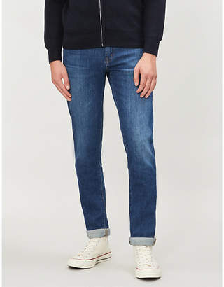 J Brand Tyler slim-fit faded tapered jeans
