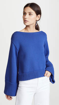 Milly Cropped Sweater