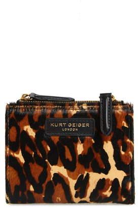 Kurt Geiger London Mini Genuine Calf Hair Clutch