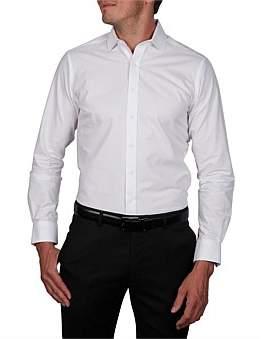 Geoffrey Beene Bendel Bedford Horizontal Slim Fit Shirt