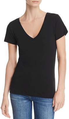 Chaser Seamed V-Neck Tee