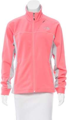 The North Face Long Sleeve Zip Front Jacket