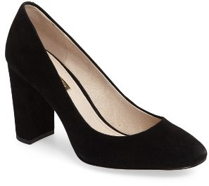 Women's Louise Et Cie Jianna Stacked Heel Pump $119.95 thestylecure.com