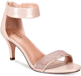 Style & Co Phillys Two-Piece Evening Sandals, Only at Macy's $69.50 thestylecure.com