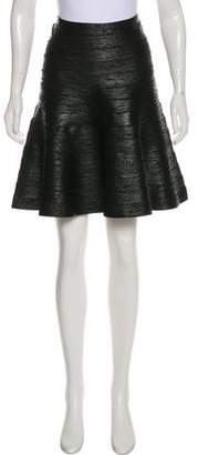 Herve Leger Bandage Knee-Length Skirt