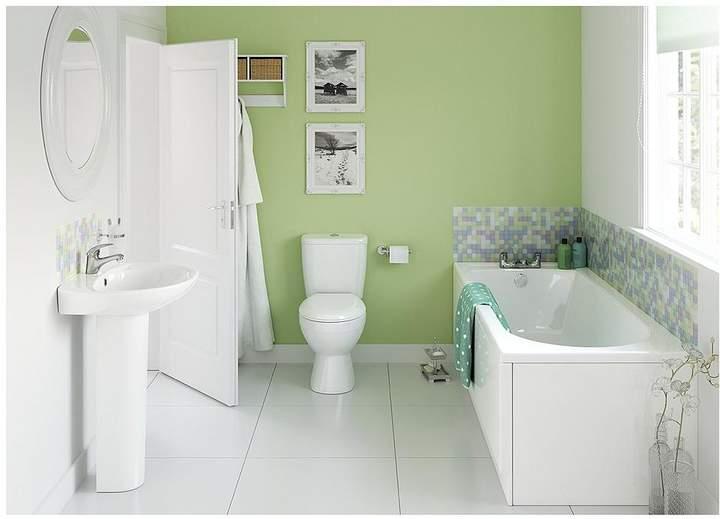 Liberty Bathroom Suite Including Taps