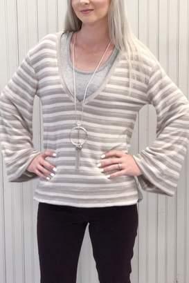 Anama Bubble Sleeve Sweater