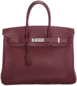 d969a7338fbc Hermes Red Togo Leather Birkin 35Cm Phw