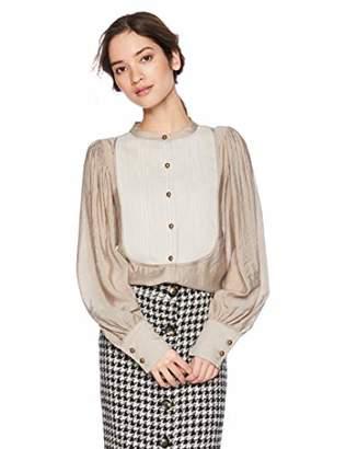 LAGUNAMOON (ラグナムーン) - [ラグナムーン] シャツ ドレスシャツ 031920400501 ベージュ 日本 F (FREE サイズ)
