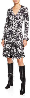 Diane von Furstenberg T/72 Silk-Jersey Midi Wrap Dress
