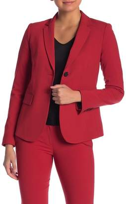 Theory Carissa Stretch Wool Classic Suit Jacket
