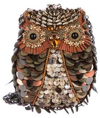 Mary Frances What A Hoot Owl Bag