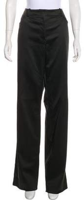 St. John High-Rise Wide-Leg Pants w/ Tags