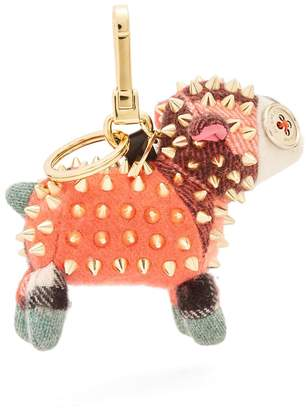 Burberry Wendy sheep cashmere key ring