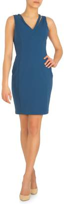 GUESS Sleeveless Sheath Dress