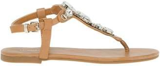 Le Château Women's Jewel Embellished Thong Sandal