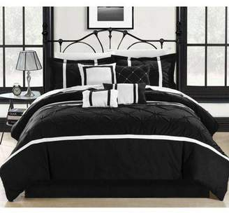 Chic Home Veronica 8-Piece Embroidered Comforter Set