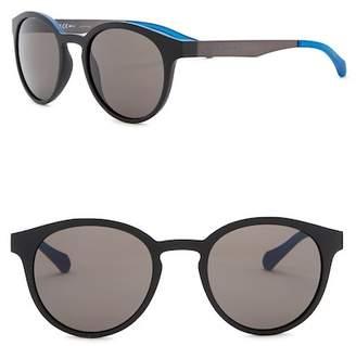 BOSS 51mm Round Sunglasses