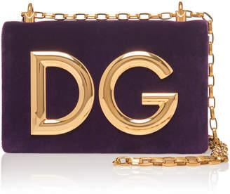 Dolce & Gabbana Velvet Cutch