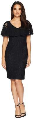 Lauren Ralph Lauren Tamalira Short Sleeve Day Dress Women's Dress