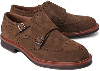 Brunello Cucinelli Double Buckle Monk Shoe