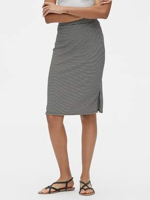 Gap Ribbed Knit Pencil Skirt